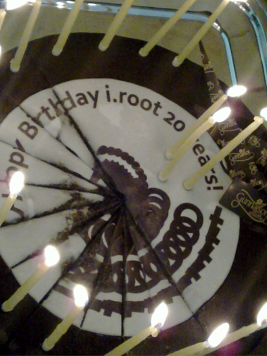 i.root 20 year - the cake